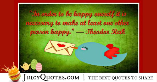 Cute Love Quote - Theodor Reik