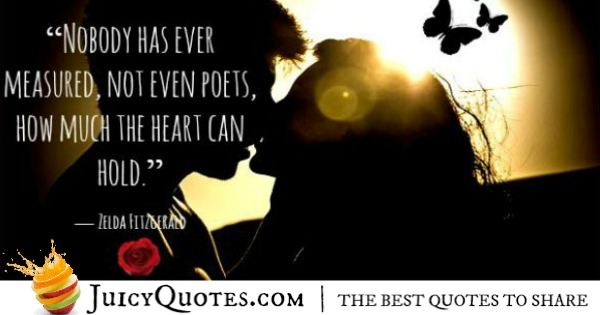 cute love quote zelda fitzgerald