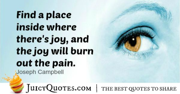 Positive Saying - Joseph Campbell