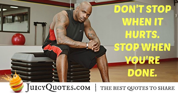 Quote About Fitness - 1