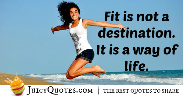 Quote About Fitness - 21