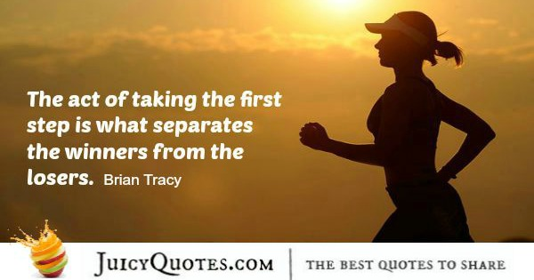 Quote About Success - Brian Tracy