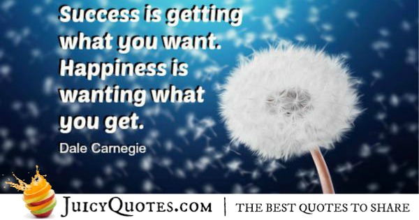 Quote About Success - Dale Carnegie