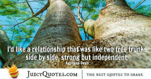 Quotes About Relationships - Agyness Deyn