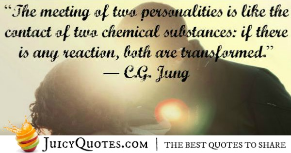 Quotes About Relationships - CG Jung
