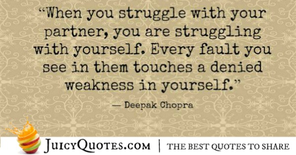 Quotes About Relationships - Deepak Chopra