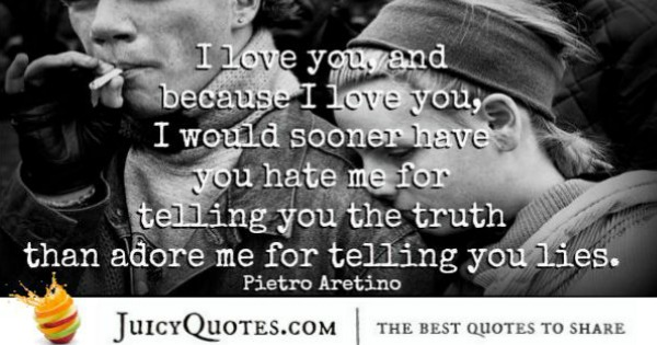 Quotes About Relationships - Pietro Aretino