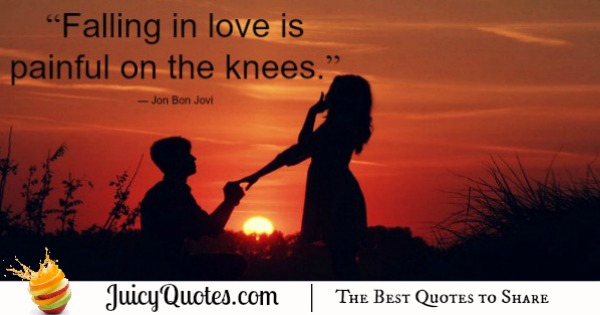 Cute Love Quote - Bon Jovi