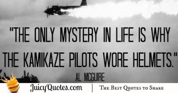 Funny Quotes Al Mcguire With Picture