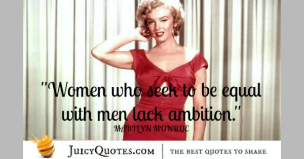 Funny Quote - Marilyn Monroe