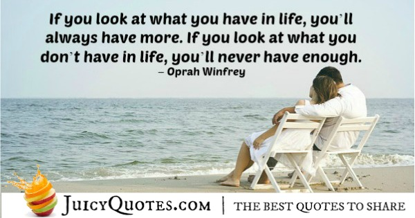 Quote About Inspiration - Oprah Winfrey