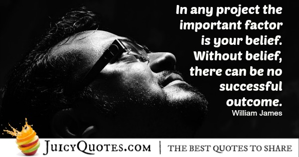 Quote About Inspiration - William james
