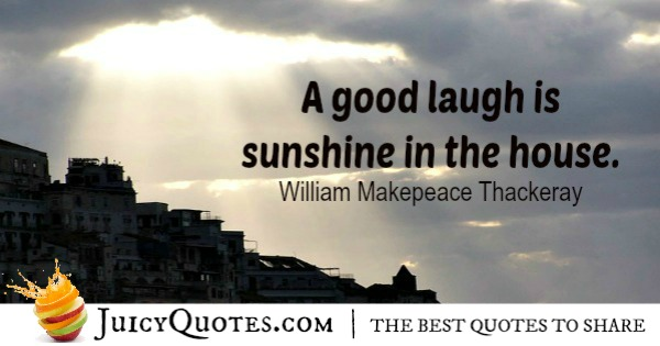 Positive Saying - William Thackeray