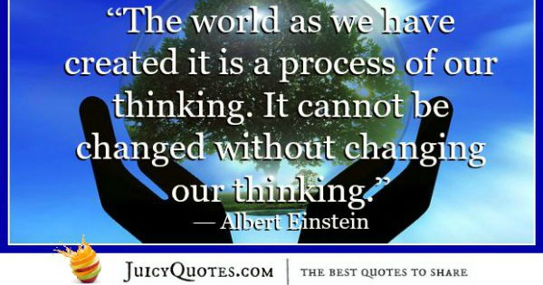 Quote About Change - Albert Einstein 2