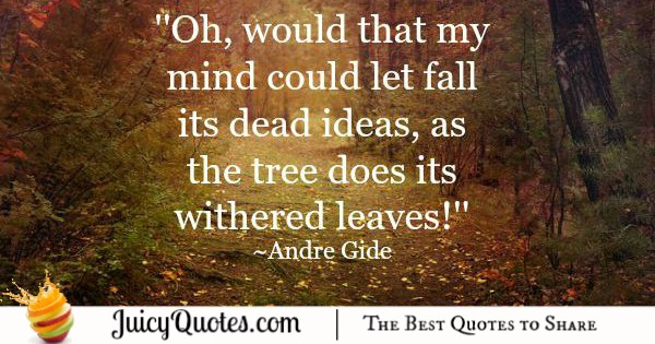 Quote About Change - Andre Gide 2