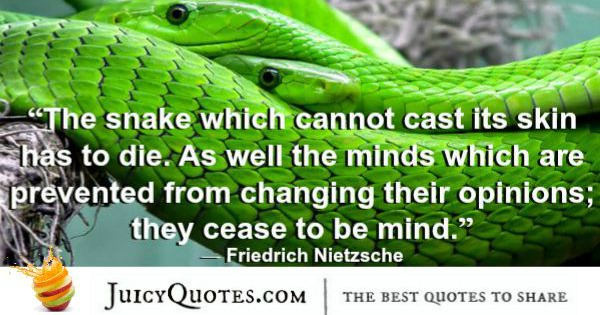 Quote About Change - Friedrich Nietzsche