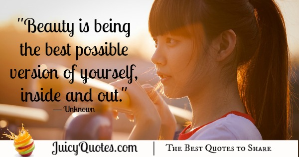 Quote About Beauty - Unknown 3