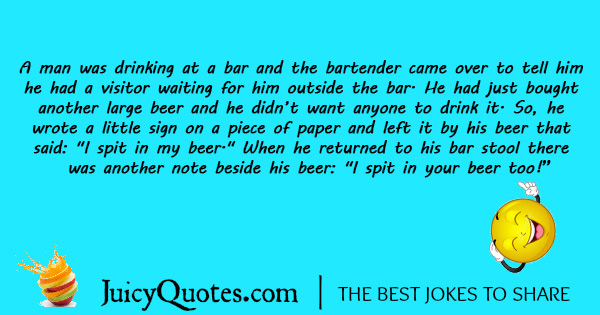 Funny Alcohol Jokes - 9