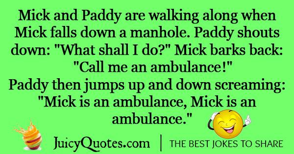 Funny Irish Jokes -6