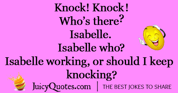 Funny Knock Knock Jokes -10