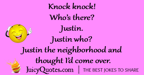 Funny Knock Knock Jokes -20