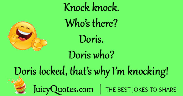 Funny Knock Knock Jokes -26