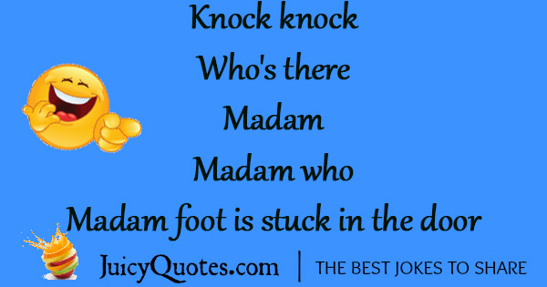 Funny Knock Knock Jokes -30