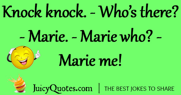 Funny Knock Knock Jokes -38