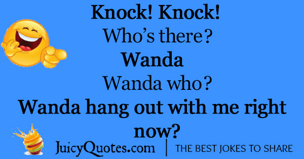 Funny Knock Knock Jokes -9