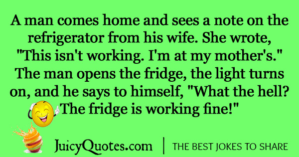 Funny Marriage Joke - 48