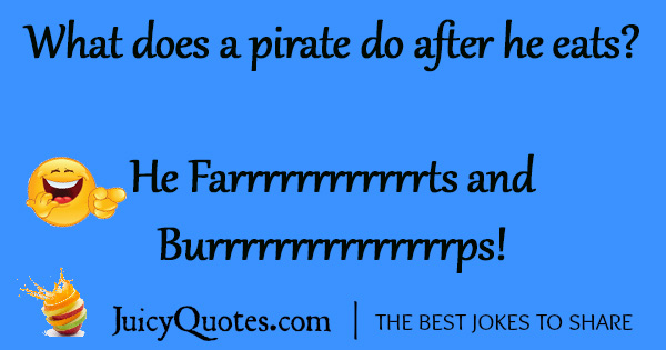 Funny Pirate Joke - 23