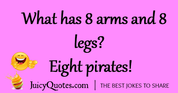 Funny Pirate Joke - 5