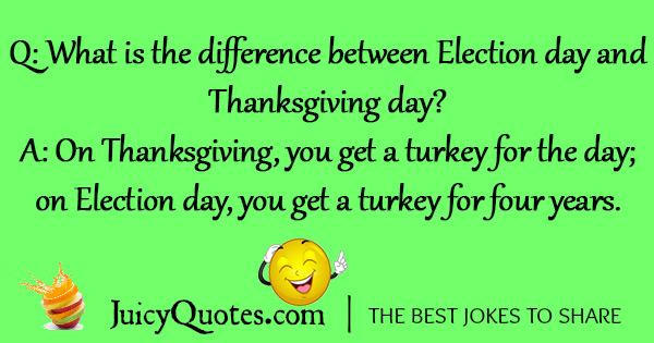 Funny Thanksgiving Joke - 3