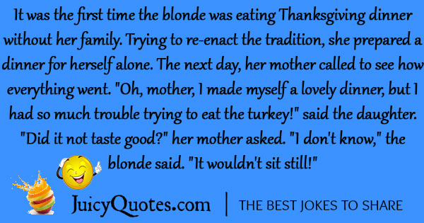 Funny Thanksgiving Joke - 6