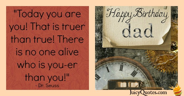 Birhtday Quote - Dr. Seuss