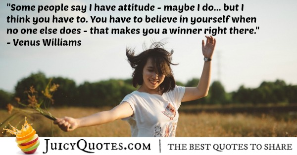 Quote About Believe   Venus Williams. Quote About Believe U2013 Venus Williams