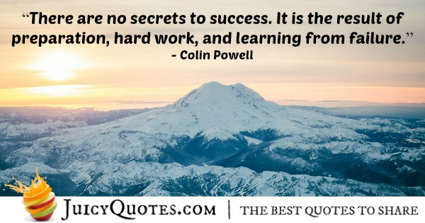 Quote About Work - Colin Powell