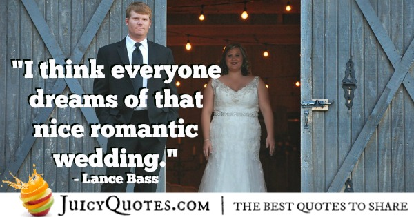 Romantic Quote - Lance Bass