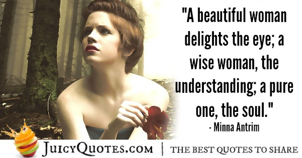 Romantic Quote - Minna Antrim