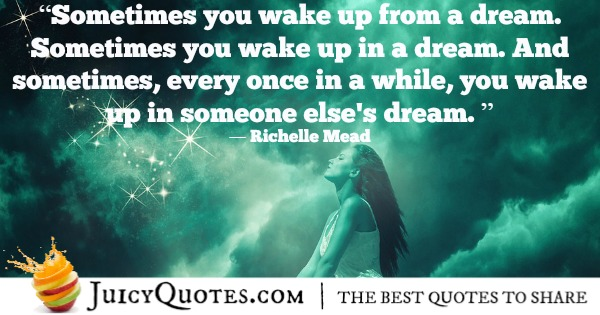 Romantic Quote - Richelle Mead 2