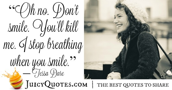 Romantic Quote - Tessa Dare