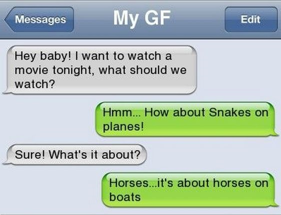 Funny sms messages for girlfriend