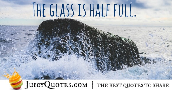 the-glass-is-half-full