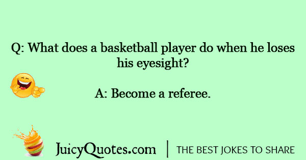 Basketball Jokes - 2
