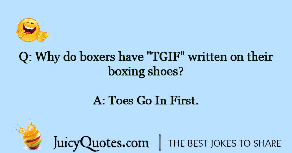 Boxing Jokes - 1