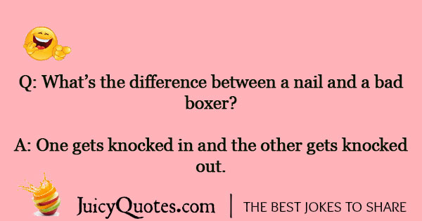 Boxing Jokes - 7