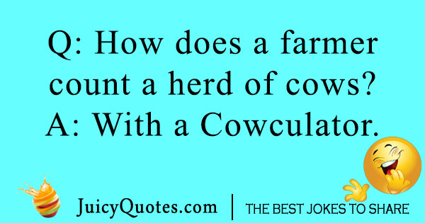 Farmer Cow Joke