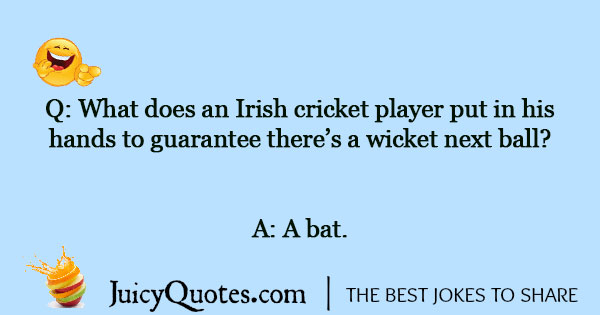Cricket Joke - 11