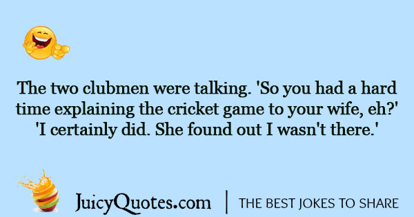 Cricket Joke - 2