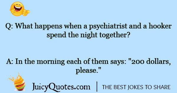 Psychiatry Joke - 4
